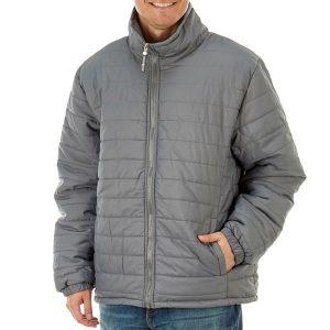 чоловіча зимова куртка пуховик великих розмірів