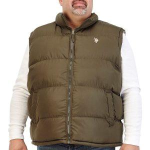 Чоловіча жилетка на холодну погоду великих розмірів
