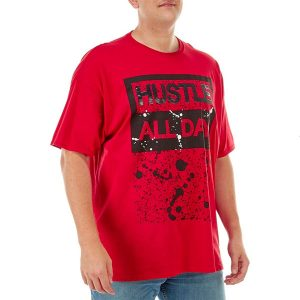чоловіча футболка великих розмірів Big & Tall Hustle All Day Graphic T-Shirt by HARD 10