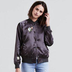 Жіночі куртки велих розмірів в києві Жіночий бомбер Levis Kora Bomber Jacket