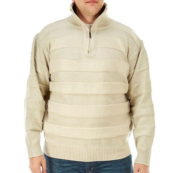 cdae5c236c924c Чоловічий светер великих розмірів Big & Tall Turtleneck Quarter-Zip ...