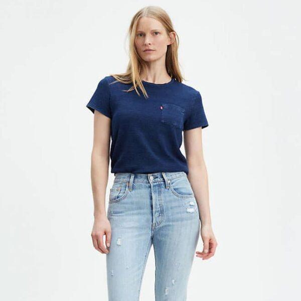 женская футболка больших размеров Levis Perfect Pocket Tee Shirt