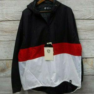 чоловіча вітровка Big & Tall Hooded Quarter-Zip Jacket by ENCRYPTED 48